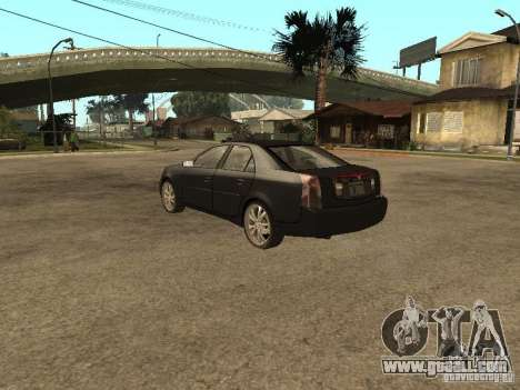 Cadillac CTS for GTA San Andreas left view