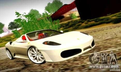 Ferrari F430 Spider for GTA San Andreas side view