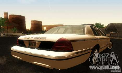 Ford Crown Victoria Ohio Police for GTA San Andreas left view