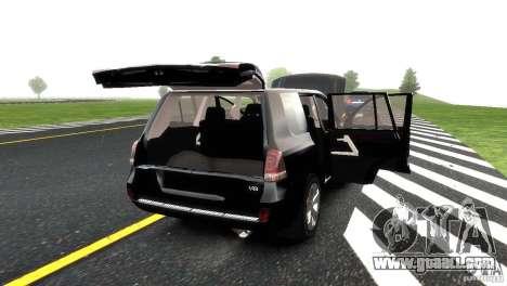 Toyota Land Cruiser 200 RESTALE for GTA 4 wheels