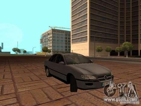Opel Omega B 1998 v2 for GTA San Andreas back view