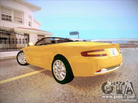 Aston Martin DB9 Volante v.1.0 for GTA San Andreas left view