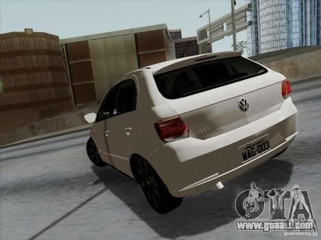 Volkswagen Golf G6 v3 for GTA San Andreas back left view