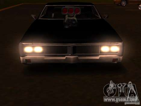 Charger Sabre for GTA San Andreas side view