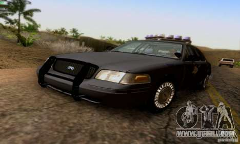 Ford Crown Victoria Kentucky Police for GTA San Andreas