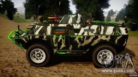 Monster APC for GTA 4 left view