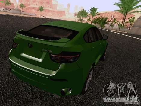 BMW X6 LT for GTA San Andreas left view