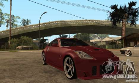 Nissan 350Z JC2 for GTA San Andreas