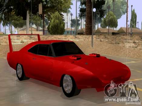 Dodge Charger Daytona 440 for GTA San Andreas right view