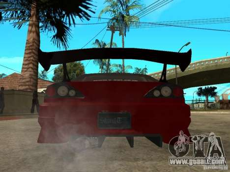 Nissan Silvia S-15 for GTA San Andreas back left view
