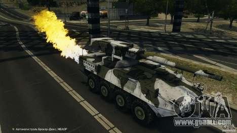 Stryker M1128 Mobile Gun System v1.0 for GTA 4 interior