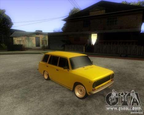 VAZ 2102 for GTA San Andreas back left view