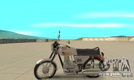 Jawa 350 for GTA San Andreas