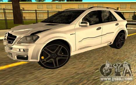 Mercedes-Benz ML63 AMG W165 Brabus for GTA San Andreas interior