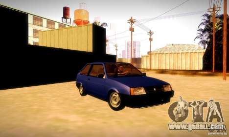 VAZ 2108 v2.0 for GTA San Andreas
