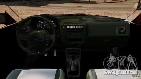 Honda Civic iES for GTA 4 back view