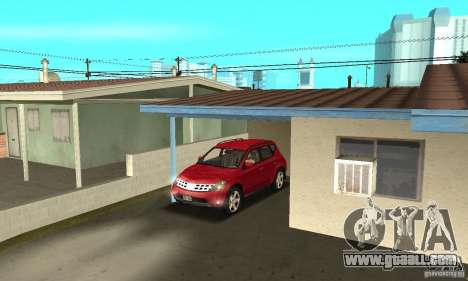 Nissan Murano 2004 for GTA San Andreas side view
