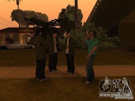 Los Santos Protagonists for GTA San Andreas forth screenshot