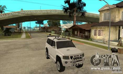 Nissan Patrol 2005 for GTA San Andreas back view