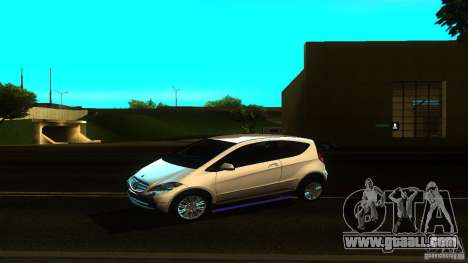 Mercedes-Benz A200 Turbo for GTA San Andreas left view