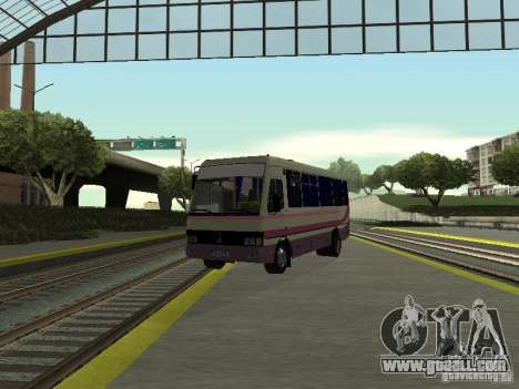 A079 tourist bases for GTA San Andreas back view