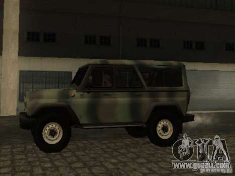 UAZ-3153 for GTA San Andreas left view
