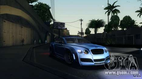 Bentley Continental GT Premier4509 2008 Final for GTA San Andreas left view