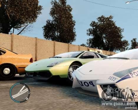 Lamborghini Murcielago LP 670-4 SuperVeloce 2010 for GTA 4 back view