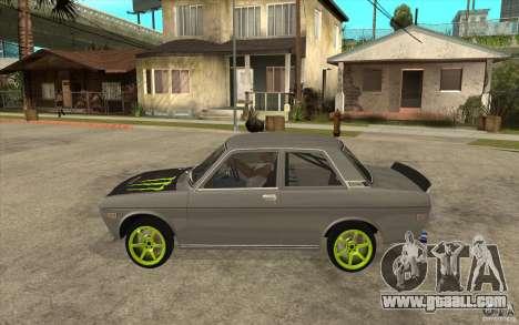 Datsun 510 Drift for GTA San Andreas left view