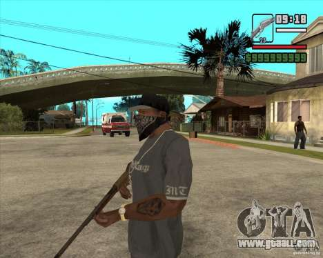 Hunting carbine for GTA San Andreas second screenshot
