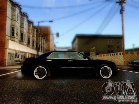 Chrysler 300C VIP for GTA San Andreas inner view