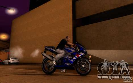 Suzuki GSXR 750 Limited v1.0 for GTA San Andreas inner view