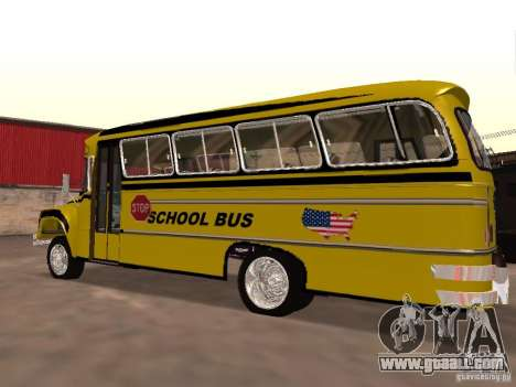 Bedford School Bus for GTA San Andreas left view