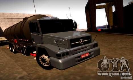 Mercedes-Benz L1620 Tanque for GTA San Andreas left view