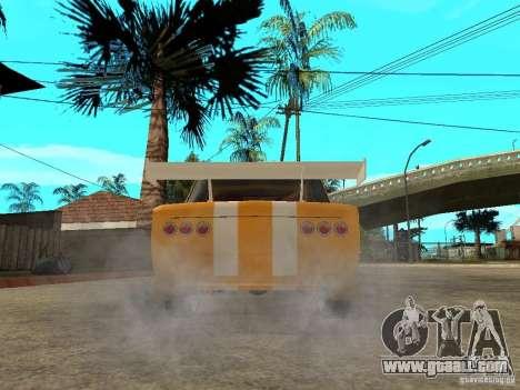 VAZ 2101 Globus for GTA San Andreas back left view