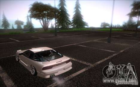 Nissan 240SX DriftMonkey for GTA San Andreas left view