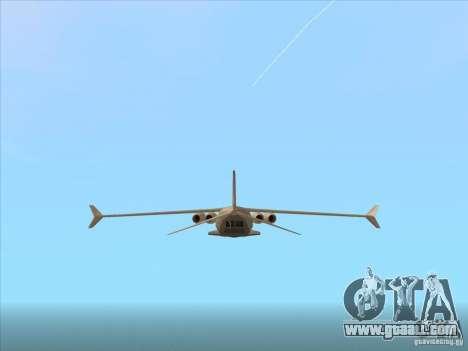 Cargo Shamal for GTA San Andreas right view