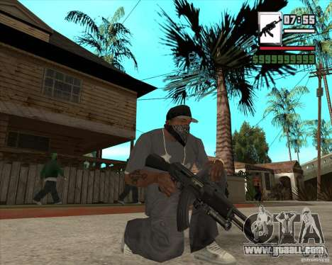 AK47 with GP-30 for GTA San Andreas third screenshot