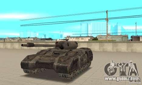 Rhino Tank-UT for GTA San Andreas