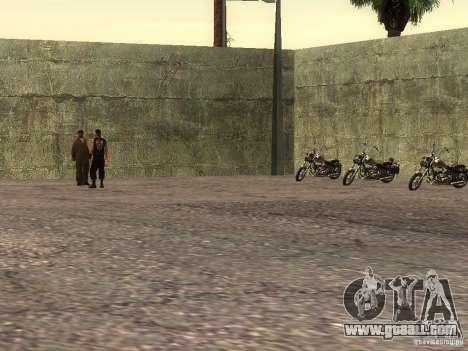 The realistic school bikers v1.0 for GTA San Andreas fifth screenshot