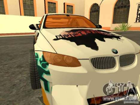 BMW M3 E92 DriftRoots for GTA San Andreas right view