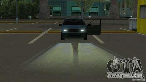 Halogen headlights for GTA San Andreas third screenshot
