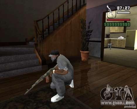 Kalash from METRO 2033 for GTA San Andreas third screenshot