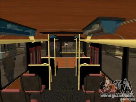 LIAZ 677p for GTA San Andreas inner view