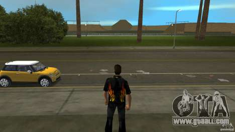 Mr Fire with čërnimi jeans for GTA Vice City second screenshot