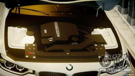 BMW 335i E30 2012 Sport Line v1.0 for GTA 4 bottom view