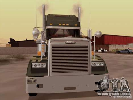 Freightliner FLD 120 Classic XL for GTA San Andreas left view