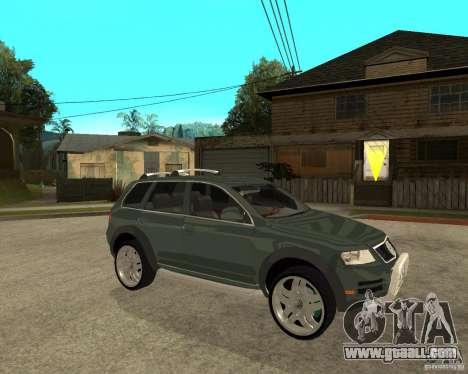 Volkswagen Touareg V10TDI 4x4 for GTA San Andreas