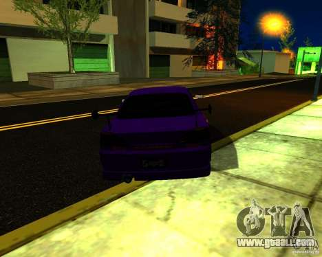 Nissan Silvia C-West for GTA San Andreas right view