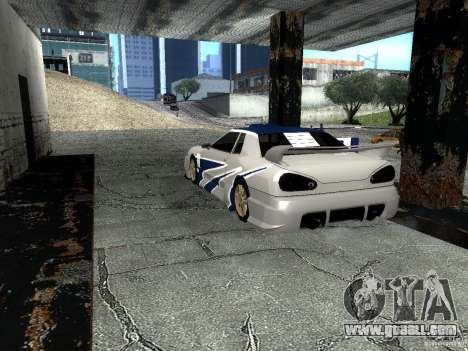 Vinyl with the BMW M3 GTR in Most Wanted for GTA San Andreas back left view